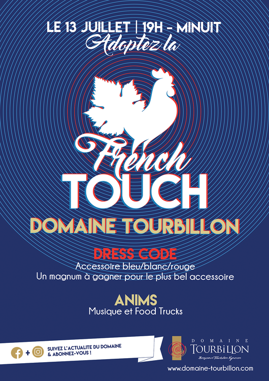 SOIREE FRENCH TOUCH - SAMEDI 13 JUILLET